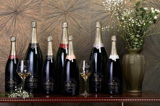 Champagne COLLET, grands contenants -(c) Eric Vanden