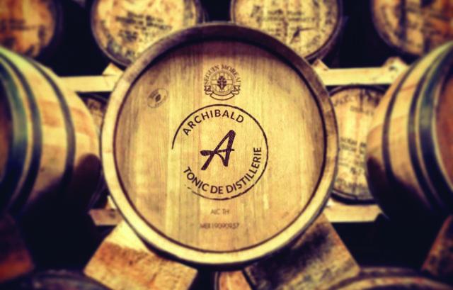 tonic de distillerie, French tonic, archibald, edition limitee, fut de chene, Agence bw, born to be wine