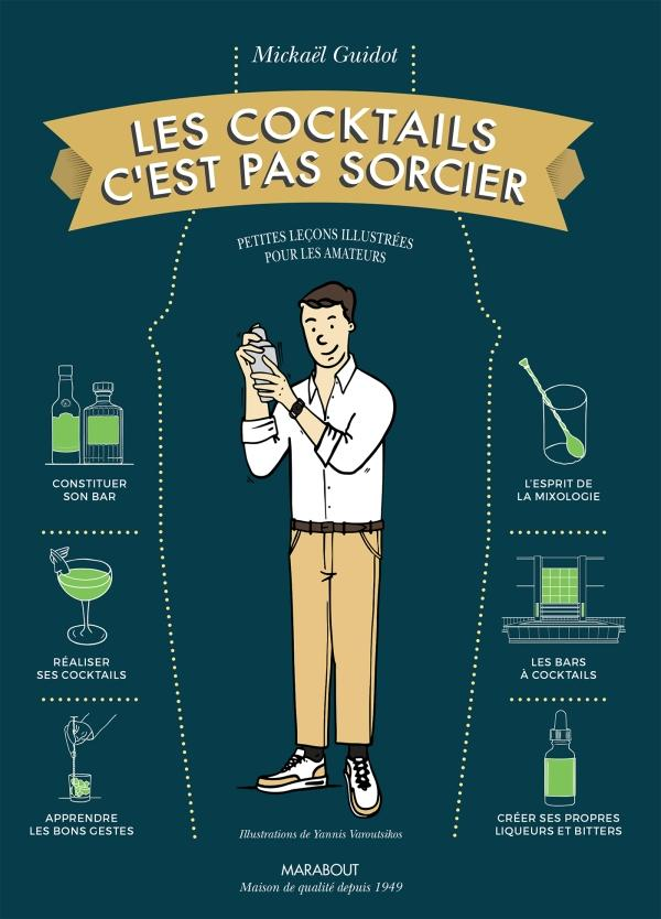 Les cocktails c'est pas sorcier, Mickael Guidot, Agence BW, Born to be wine, Relation Presse, confinement, bibliotheque