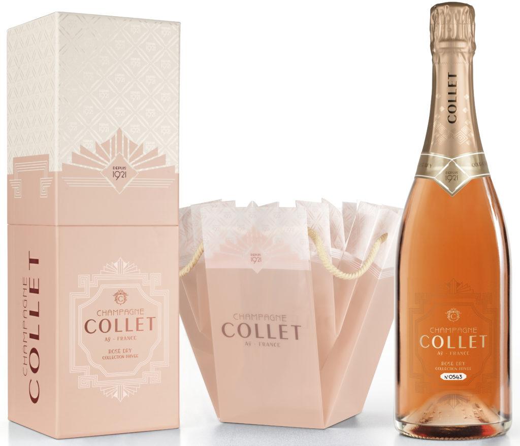 COLLET, Rosé Dry, coffret