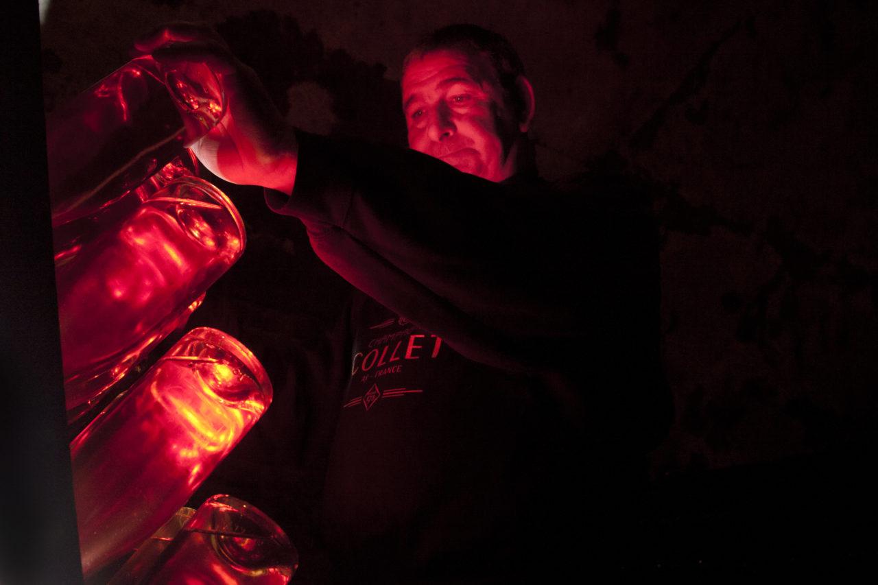 Champagne Collet, Rose-Dry, Rose Brut, Agence BW