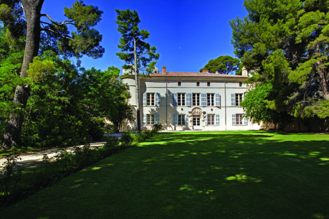 façade, chateau calissanne