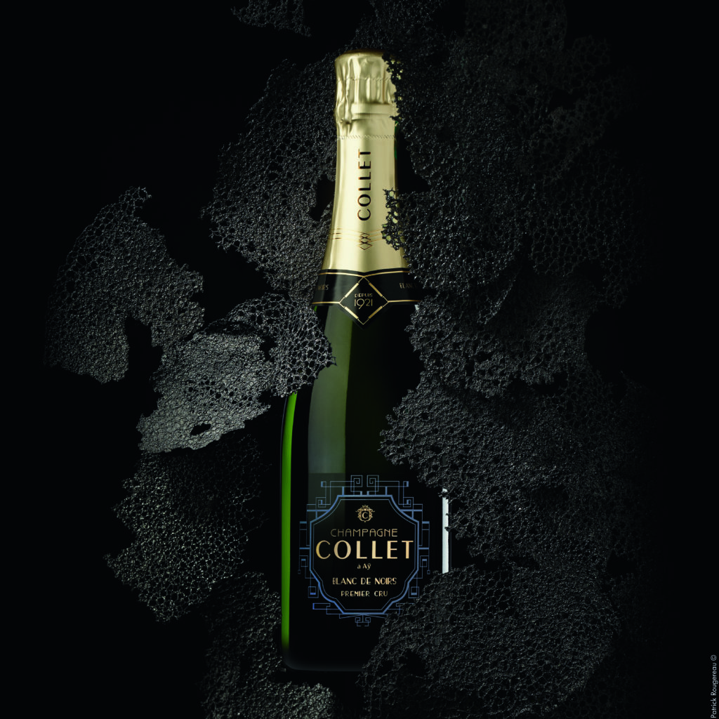 champagne collet accord Noel
