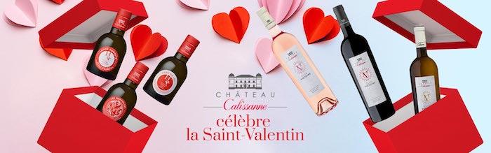 coffrets Saint-Valentin