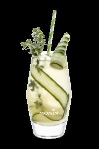 mocktail thé concombre thym